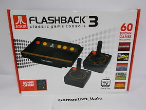 Atari flashback 3 classic retro plug play game console 60 built in games new ebay - Atari flashback 3 classic game console ...