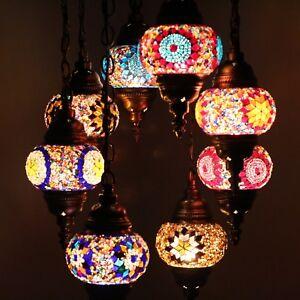 Mosaik Lampe Deckenlampe Orientalische Lampe Turkei Mosaik 8 Kugeln
