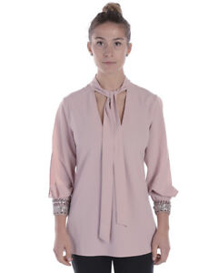Camicia Rosa Twin Italy 816 Set Donna In Qs7pbd Shirt Made HwHxrOqU