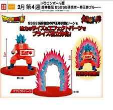 Banpresto DRAGON BALL Z SSGSS Son Goku/Gokou Blue Hair set PVC Figure DBZ324