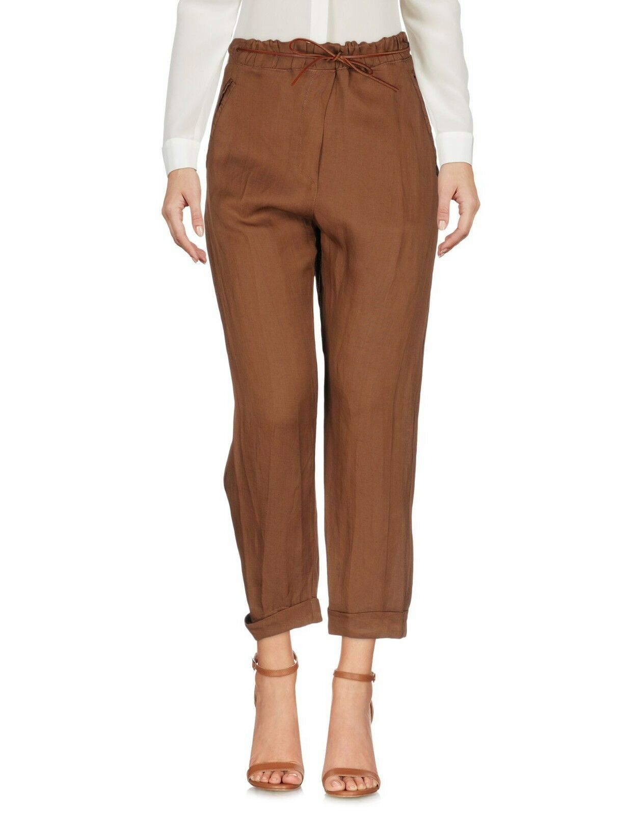 afbe7c0159 Pantaloni Donna TWIN-SET Simona Barbieri Made in H868 Tg XS d6ba3c ...