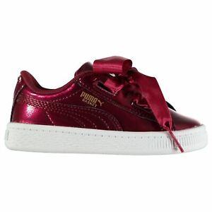 Shoes PUMA Basket Heart Glam Trainers