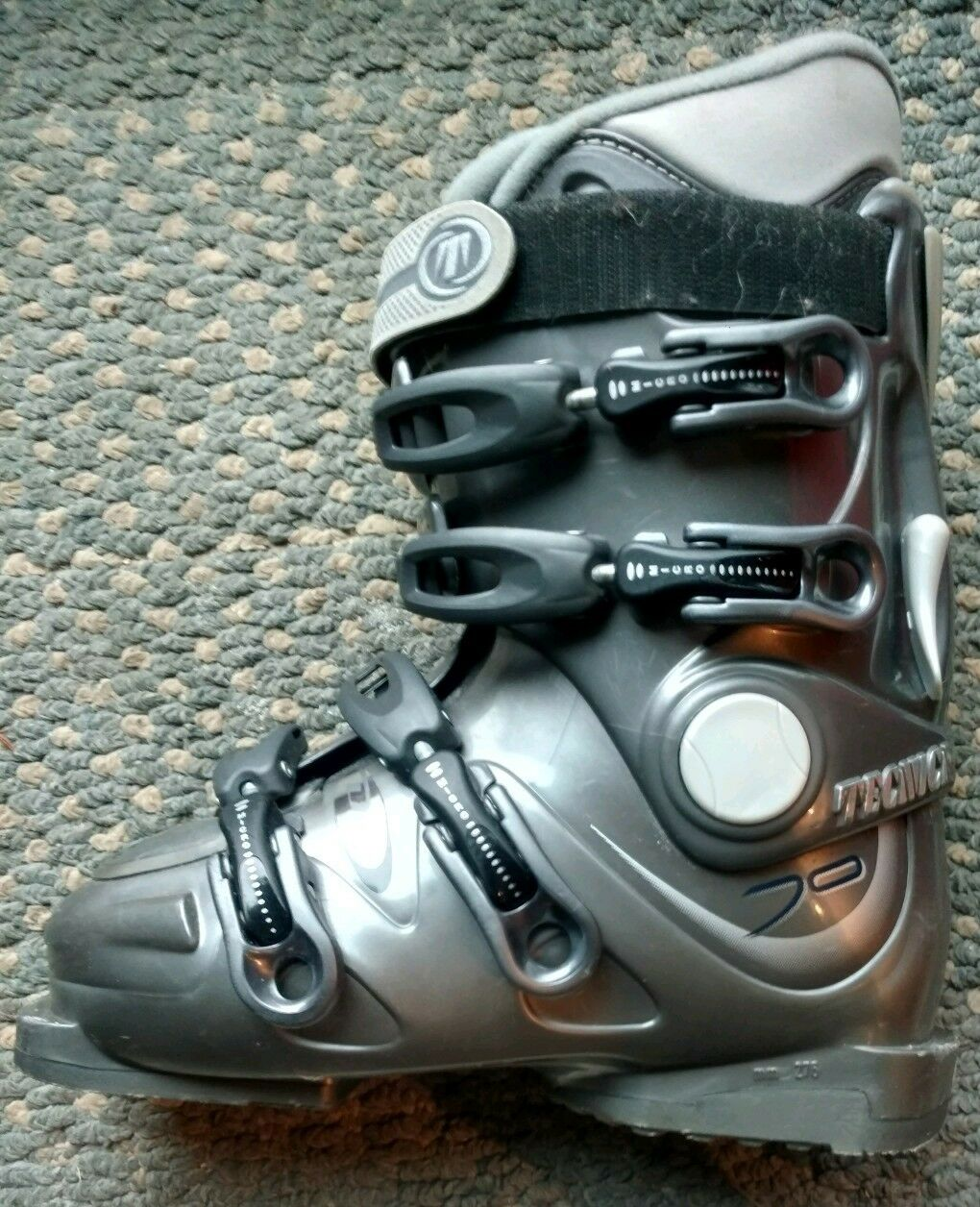 Tecnica Duo 70 Women's Downhill Ski Boots +Run Walk Switch US 6.5