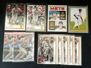 2019-Topps-amp-Bowman-Baseball-Jeff-McNeil-Lot-11-Rookie-RC-New-York-Mets