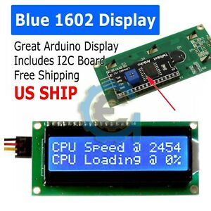 IIC-I2C-TWI-1602-Serial-Blue-Backlight-LCD-Display-For-Arduino