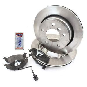 Brake-Discs-Pads-Front-for-Toyota-Land-Cruiser-LJ12-KZJ12-TRJ12