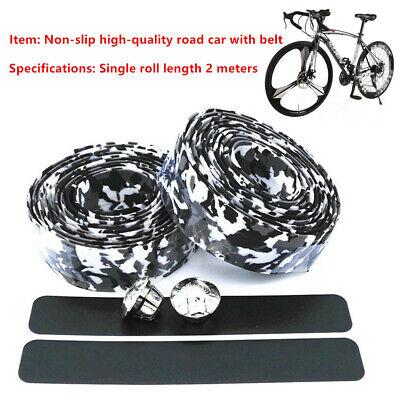 Cycling Handle Wraps 2 Rolls BV EVA Road Bike Handlebar Tapes Bicycle Bar Tape