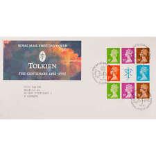 """Großbritannien H-Blatt 172 FDC Ersttagsbrief """"Queen Elisabeth"""" Tolkien"""