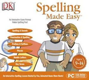 DK-SPELLING-MADE-EASY-Diagnostic-Testing-Ages-9-14-Win-8-7-Vista-XP-NEW