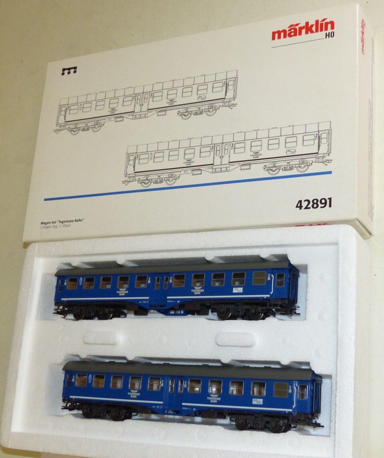 Märklin 42891 Wagen Set Tegernsee Bahn Byg 1 87 TOP Zustand  OVP KKK