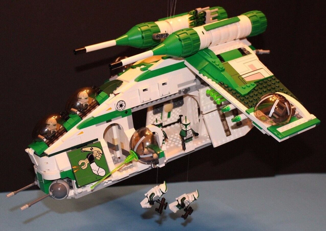 LEGO® STAR WARS™ 75021 PHASE I 41st Grün Grün Grün REPUBLIC GUNSHIP CUSTOM SET 100% LEGO 7eef88