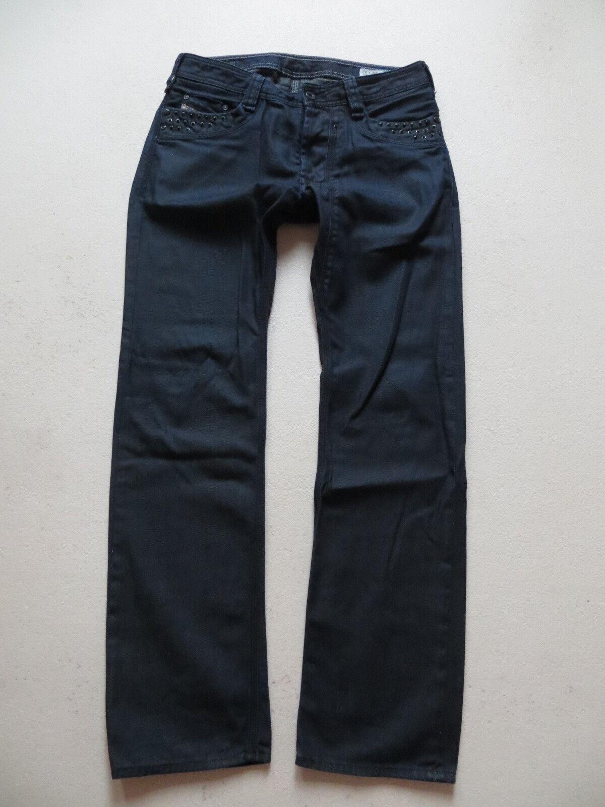 DIESEL Jeans Hose TIMMEN wash 008LG, W 29  L 32, dark Indigo Denim, mit Nieten
