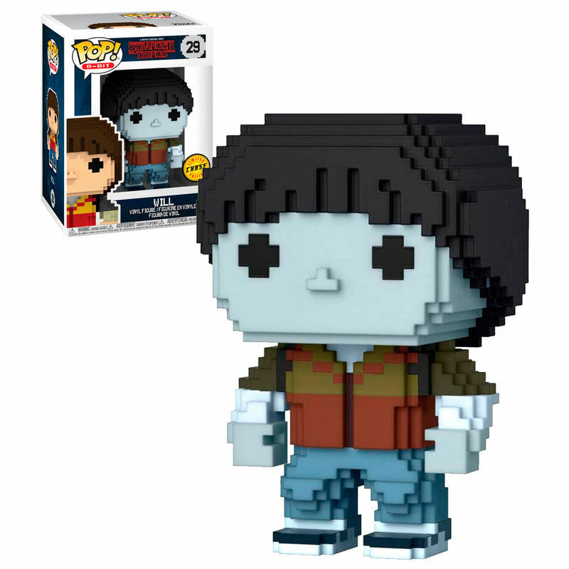 Funko Pop 8-Bit 29 Stranger Things 29572  Will Chase  distribution globale