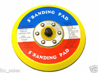 2pcs 5 Hook And Loop Face Sanding Pad For Da Sander Palm Orbital Dual Action