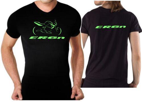 T-shirt maglia per moto Kawasaki ER6N tshirt ER-6N maglietta