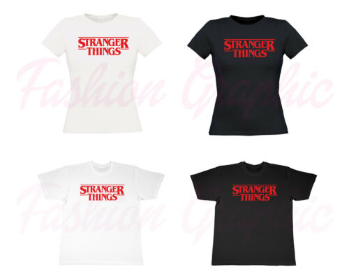 T SHIRT STRANGER THINGS INSPIRED MAGLIETTA UOMO DONNA SERIE TV FAN SERIES TSHIRT