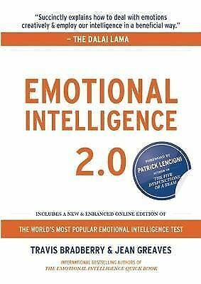 Emotional Intelligence by Travis Bradberry (Hardback, 2009)