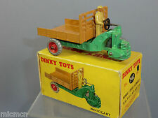 "DINKY TOYS modello No. 27g 342 ""motor-cart"" VN MIB"
