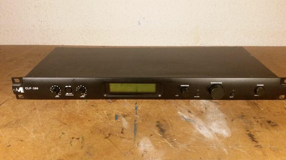 Professionel Stereo RMS Compressor & Peak Limiter, Marani
