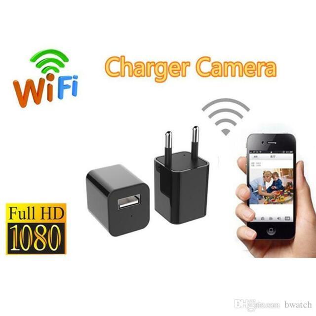 Adapter Spy Camera Light Wifi HD Motion Video Camera Micro Hidden Micro Camera