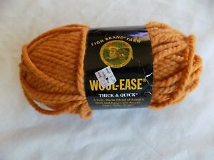 Apricot-Lion-Brand-Wool-Ease-Yarn-6-oz-108-yds-Super-Bulky-Weight
