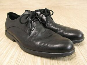 Cole Haan Men's Black Leather Oxford Lace-up Dress Shoes - US 9 M