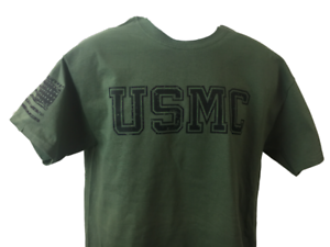 e4d5a2f33b4 Image is loading USMC-Shirt-Marine-Corps-DD-214-Alumni-AMERICAN-