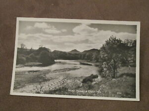 Real-Photographic-Postcard-Eildon-Hills-amp-River-Tweed-Nr-Melrose