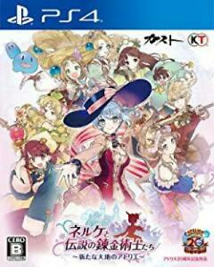 Nerke-and-the-legendary-alchemists-Ateliers-of-the-new-earth-PS4-Japan