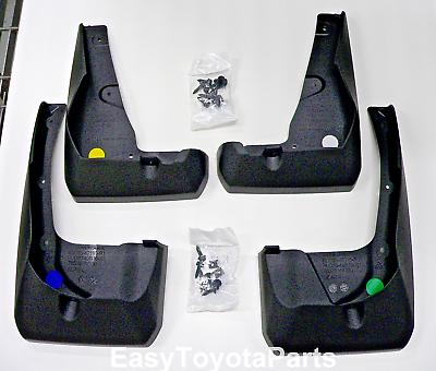 For Toyota RAV4 Mudguard Kit PU060-42S16-P1 Genuine OEM 4 Pc Set Mud Flaps
