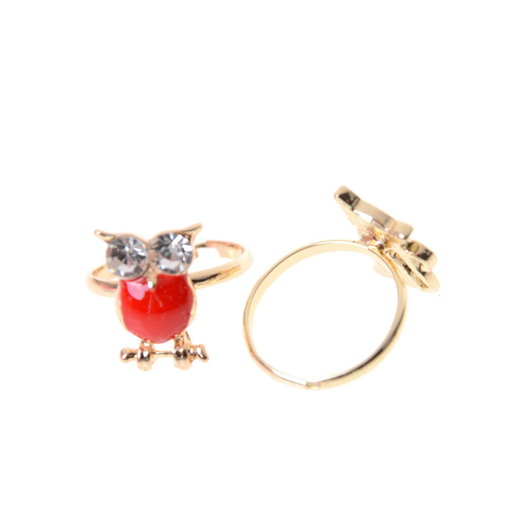 Fashion Adjustable Kids Sweet Alloy Ring Children Costume Jewelry Toy Gift XD S/&