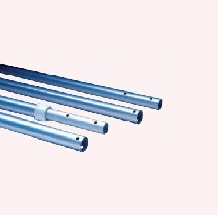 Pértiga para piscina extensible hasta 5 metros de aluminio anodizado