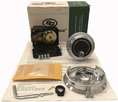 S/&G Sargent and Greenleaf 6730-102 Group 2 NIB Spy Proof Dial /& Lock Kit