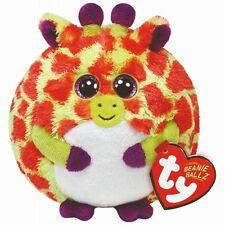 6bba2d06cdd Ty Beanie Ballz Toby Giraffe Orange Yellow Bean Bag Stuffed Plush Animal  38129