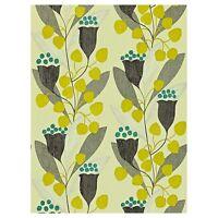 Sanderson Wallpaper Bellflower 211654 Charcoal Lime