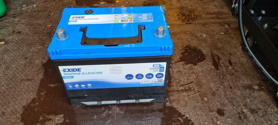 MotorGuide R3 55 lbs el påhængsmotor med 80 Ah...