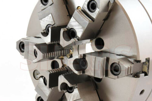 """.0005/"""" TI OUT OF STOCK 90 DAYS 10/"""" 6 Jaw Adjustable Self Centering Lathe Chuck"""