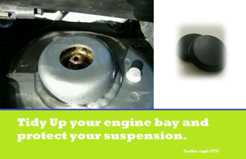 Ford Fiesta 02-08 MK6 ST Suspension Strut Tower Top Grommet Bung Cover