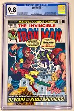 IRON MAN #55 CGC 9.8 WHITE PAGES - 1st THANOS - Avengers, Thor, Hulk