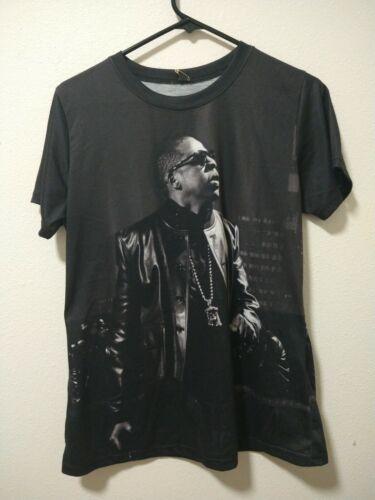 Jay-Z Portrait T-shirt 2000s Vintage Rocawear Beyo