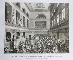 Ferraud-1795-Assassinat-du-Depute-Ferraud-Convention-Nationale-Revolution-France