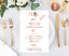 Custom copper menu wedding signage decor personalised menu wedding menus