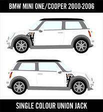BMW Mini A Panel Union Jack Decal Kit Mini Cooper Racing Vinyl Graphics NEW