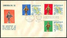 1969 Phil 80th Anniv. Of The Return Of Santo Niño De Leyte To Tacloban FDC - A
