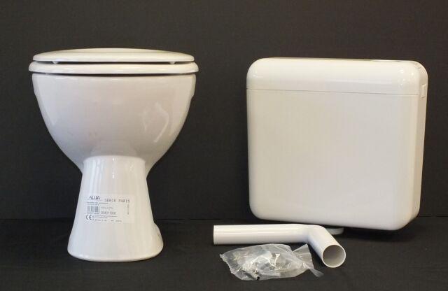 Keramag Allia Paris Stand WC Tiefspüler Tiefspül Klo Toilette Spülkasten + Sitz