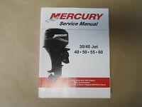 2002 White Mercury 30/40 Jet 40 50 55 60 Service Manual 90-852572r02 02