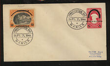 Philippines  uprated Japan occup postal envelope 1944    APL0510