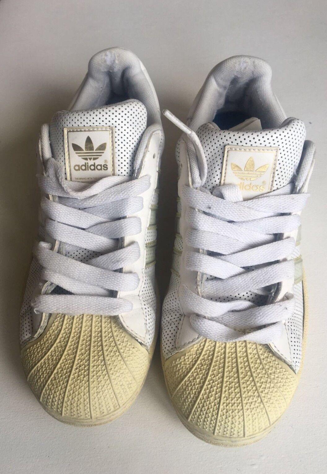 53d2bf63b Adidas Superstar Unisex Men s   Women s White Yellow