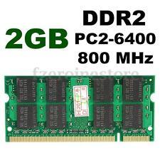 2GB PC2-6400 DDR2 800MHZ 200-pin SODIMM Laptop Notebook SDRAM Memory Memoria