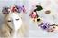 Blumen Kranz Blüten Haarband Stirnband Haarreif Schmuck Kommunion Braut Party ♥